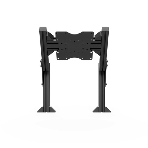 Quad monitor stand add-on